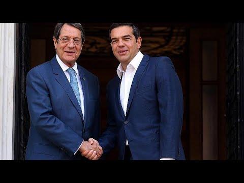 Συνάντηση Αναστασιάδη – Τσίπρα στην Αθήνα για προετοιμασία ενόψει Νέας Υόρκης …