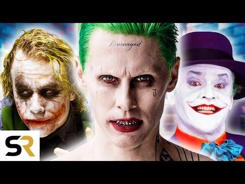 歷代小丑大集合!一次看完所有版本的小丑~