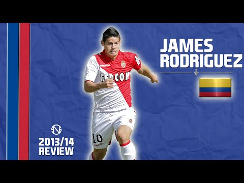 JAMES RODRÍGUEZ | Goals, Skills, Assists | Monaco | 2013/2014 (HD)