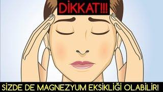 Video DİKKAT! MAGNEZYUM EKSİKLİĞİ Vücudu Zorluyor MP3, 3GP, MP4, WEBM, AVI, FLV November 2018