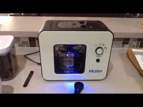 Haier Brew Automatic Coffee Makers 4 Cup with Grinder Espresso Coffee Machines Review