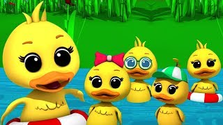 Video Lima bebek kecil | sajak anak-anak | Puisi untuk anak-anak | Rhymes for Kids | Five Little Ducks MP3, 3GP, MP4, WEBM, AVI, FLV Januari 2019