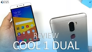 Coolpad Cool 1 review with camera samples, gaming. The Cool 1 in India comes with 5.5-inch 1080p display (Gorilla Glass 3), Snapdragon 652, 4GB RAM, 32GB non-expandable storage and a massive 4060 mAh battery. But the highlight here is the dual 13MP rear cameras, with monochrome and RGB sensors. We take a detailed look at the camera and performance of the Cool 1 Dual in this video.Buy Coolpad Cool 1(Amazon) - http://2pb.in/2idrBfcCool 1 Full Specifications - http://www.phonebunch.com/phone/coolpad-cool-1-dual-2592/Smartphones with IR Blaster - http://www.phonebunch.com/news/smartphones-with-universal-remote-ir-blaster-to-control-home-appliances_3662.htmlCoolpad Cool 1 Review time-stamps:1. Intro (00:00)2. Build Quality & Design (00:43)3. Display (01:51)4. Network & Call Quality ( 02:09)5. Camera (02:35)6. Audio Quality - Speaker, FM Radio (03:42)7. Software – Storage, Features, USB OTG (03:55)8. Performance - Web Browsing, Speed Test (04:38)9. Gaming (05:12)10. Battery-life - Fast Charging, Screen-on-time (SOT) (5:47)11. Conclusion - Pros & Cons (06:12)Subscribe on YouTube, to get videos firsthttp://www.youtube.com/subscription_center?add_user=PhoneBunchFollow PhoneBunch:http://www.phonebunch.comhttp://www.facebook.com/phonebunchhttp://www.twitter.com/phonebunchFollow Abhinav Pathak (Editor):https://www.facebook.com/Abhi.IKnowIThttp://www.twitter.com/exoleteIntro Music:Buddha by Kontekst https://soundcloud.com/kontekstmusicCreative Commons — Attribution 3.0 Unported— CC BY 3.0 https://creativecommons.org/licenses/by/3.0/Music provided by Audio Library https://youtu.be/b6jK2t3lcRs