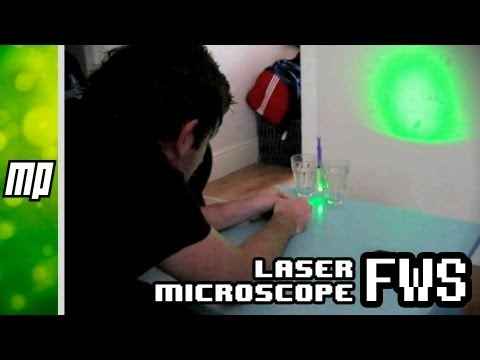 Building a Laser Microscope at Home
