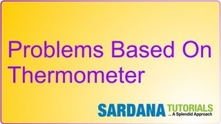 Problems Based On Thermometer