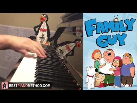 Family Guy Theme Song (Piano Cover by Amosdoll)