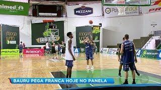 Bauru Basket tem rotina intensa de treinos para enfrentar o Franca pelo NBB