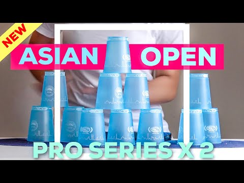 NEW PRO SERIES 2X : Asian Open 2018 Commemorative Cups