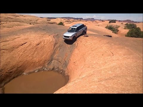 Video Range Rover on Hell's Revenge - Moab Offroad GoPro download in MP3, 3GP, MP4, WEBM, AVI, FLV January 2017