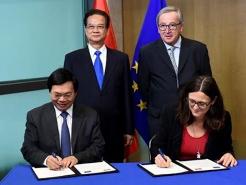 FTA Viet Nam - EU đẩy mạnh tăng trưởng xuất khẩu