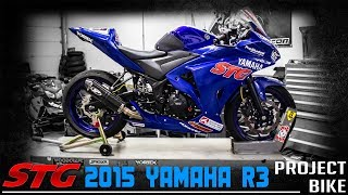 10. 2015 Yamaha YZF-R3 First 500 Review