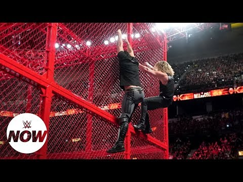 Full WWE Hell in a Cell 2018 results: WWE Now (видео)