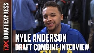 Kyle Anderson NBA Draft Combine Interview