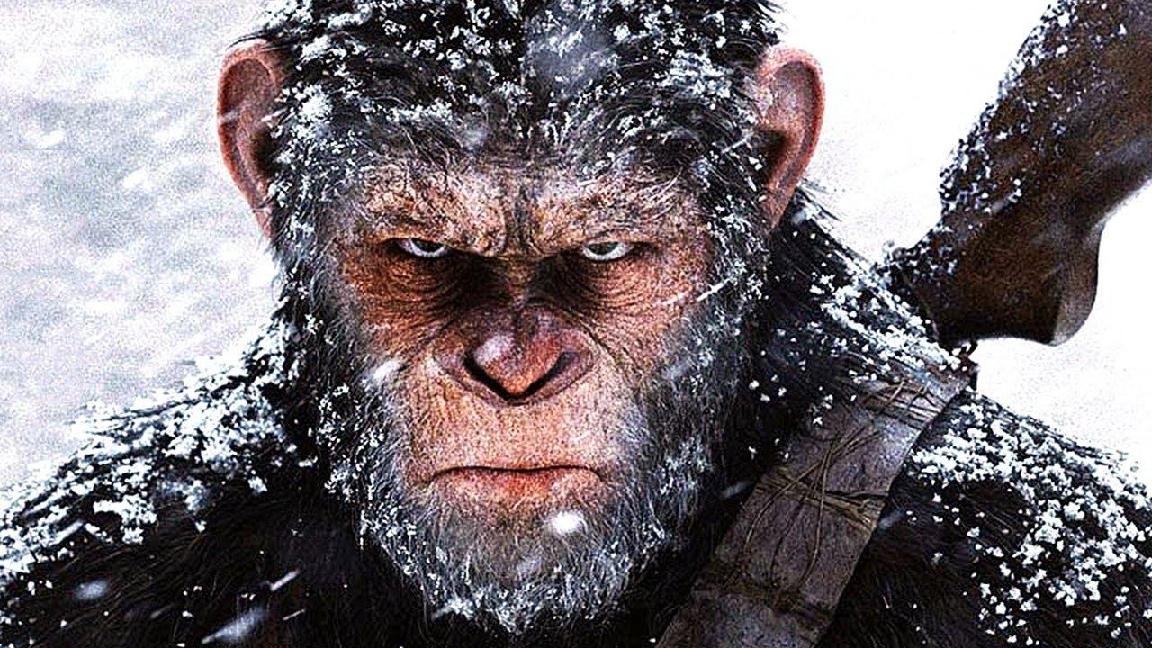 Афиша планета обезьян война фильм 2018