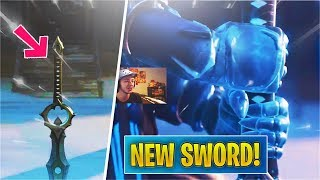 *NEW* Infinity Blade Weapon TRAILER! (Fortnite Sword)