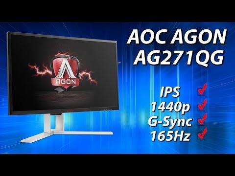 AOC AGON AG271QG Review | 27