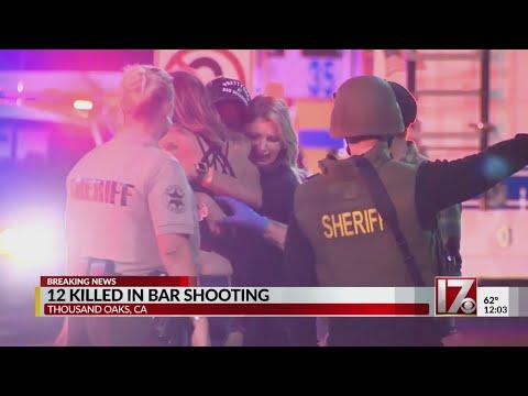13 people, including gunman, killed in California bar shooting