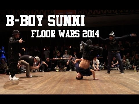 SUNNI - Subscribe to ProDance right here!: http://bit.ly/SwaLLi Check a selection of B-Boy Sunni at Floor Wars 2014 The 10th edition of Floor Wars was held at March ...