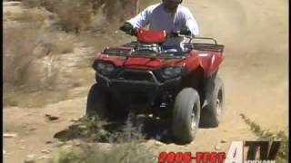 8. ATV Television Test - 2005 Kawasaki Brute Force 750
