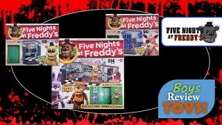 The boys got their hands on the new Five Nights at Freddy's Construction Blocks from McFarlane Toys.  In this video we unbox The Show Stage, The Office, & Pirate's Cove.  We time lapsed the building but you can still get some up close shots of the new mini characters and fully built playsets.Special mention to TryHardNinja & The Living Tombstone for musical tracks.  You guys rock!