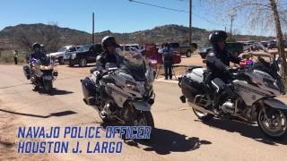 On March 12, 2017, Navajo Police Officer Houston J. Largo reached the end of watch. He was a true Navajo Nation warrior. Thank you for your service to the ...