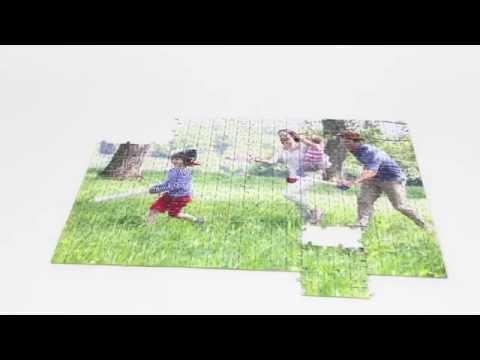 Puzzle Personalizado de cartón con Caja - Video 1