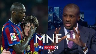 Download Video Yaya Toure picks incredibly attacking Ultimate XI of players he has played with! | MNF MP3 3GP MP4