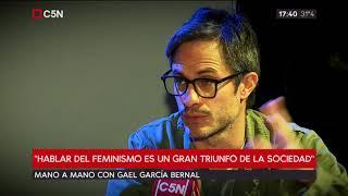 Daniela Ballester mano a mano con Gael García Bernal