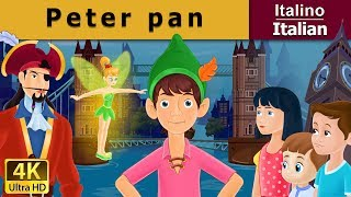 Peter Pan - favole per bambini raccontate - 4K UHD - Italian Fairy Tales