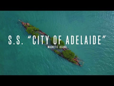 "S.s. ""city Of Adelaide"" Shipwreck - Magnetic Island - Townsville Qld"