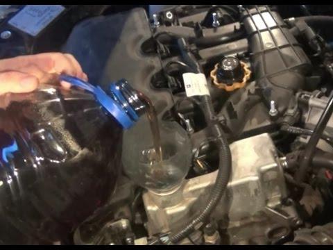 Замена масла в двигателе лада гранта 16 клапанная фото