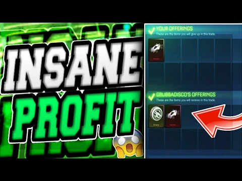 SO MUCH PROFIT! TRADING PAINTED DRACO WHEELS ON ROCKET LEAGUE!! (видео)