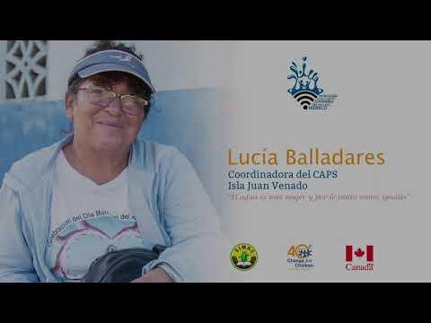 Testimonio Lucía Balladares, CAPS Isla Juan Venado