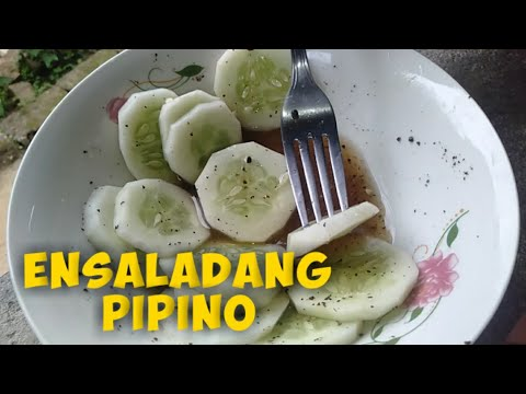 ENSALADANG PIPINO    Quick N Easy Ensaladang Pipino Recipe