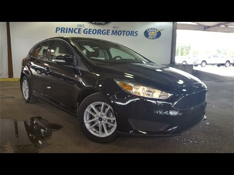 New 2017 Ford Focus SE 4 Door Car in Prince George L273623