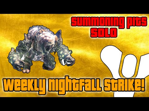 Strike - In today's Destiny video, I show you guys how to solo this weeks Nightfall Strike,