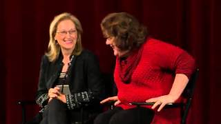 Meryl Streep & Margo Martindale - August: Osage County Q&A Part 2 of 3