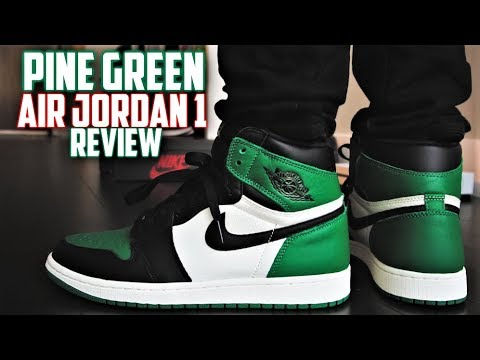 Air Jordan 1 Pine Green Review And On-feet