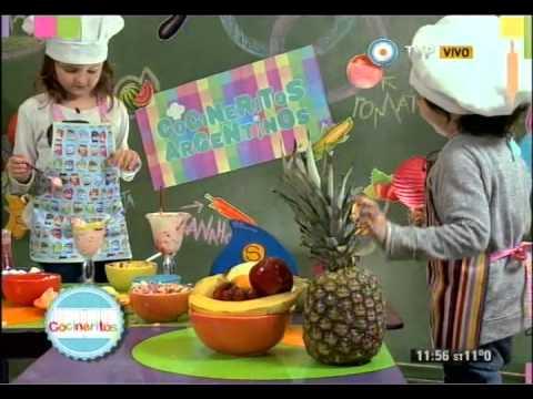 Copas de frutas, Cocineritos