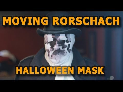 Cheap Moving Rorschach Halloween Mask
