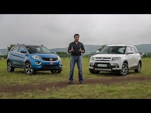 Tata Nexon vs Maruti Suzuki Brezza | Comparison | ZigWheels.com