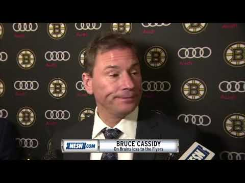 Video: Bruce Cassidy on the Bruins 4-3 loss to the Flyers
