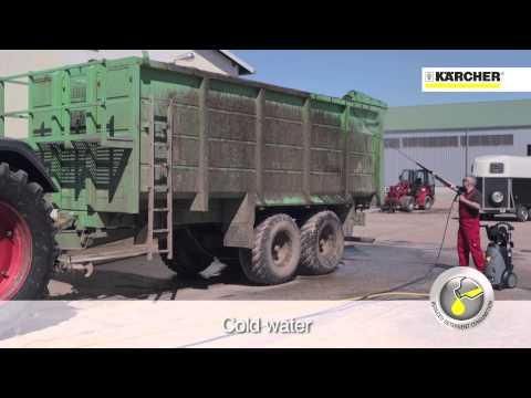 I vantaggi delle idropulitrici Karcher ad acqua calda
