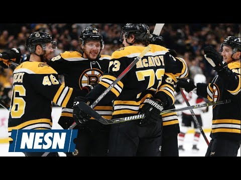 Video: Bruins Get Third Win In A Row With Victory Over Coyotes