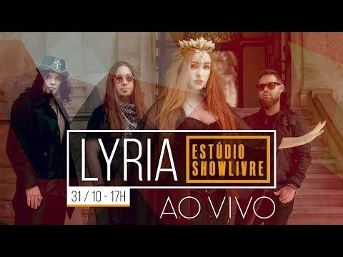 Lyria no Estúdio Showlivre - Ao Vivo