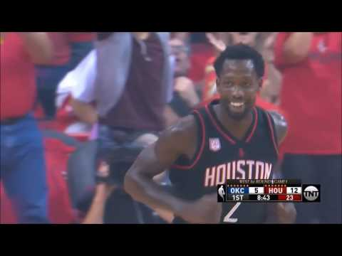 Patrick Beverley takes Spalding away from Russell Westbrook