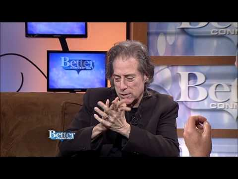 Comedian Richard Lewis live on our set! October 18, 2013