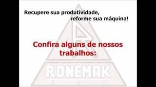 Ronemak - Reforma e adequação a NR-12 de máquinas serra fita