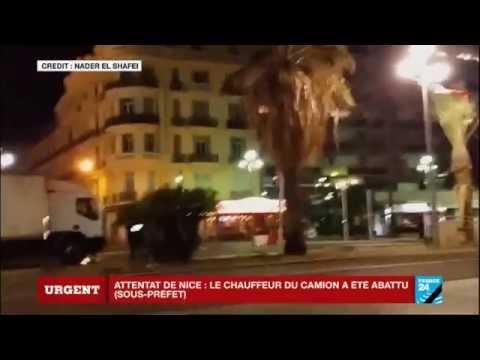 Images amateur – Le moment où la police tire sur le terroriste arabe pour l'immobiliser
