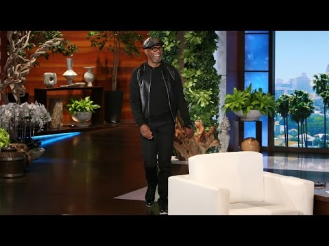 Samuel L. Jackson and Harrison Ford's Friendly Rivalry (видео)